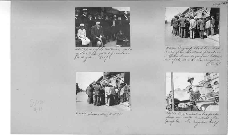 Mission Photograph Album - Cities #10 page 0105