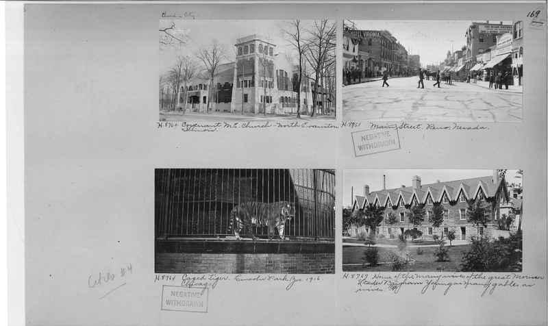 Mission Photograph Album - Cities #4 page 0169