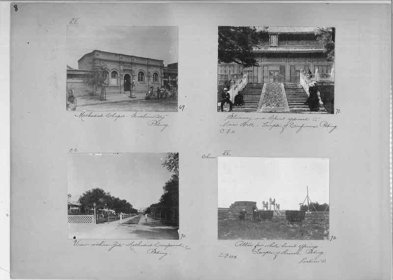 Mission Photograph Album - China #1 page  0008