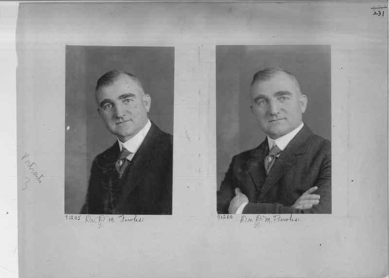 Mission Photograph Album - Portraits #3 page 0231