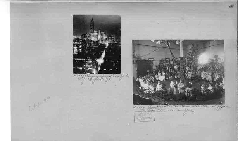 Mission Photograph Album - Cities #4 page 0065