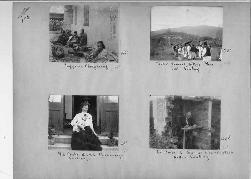 Mission Photograph Album - China #1 page  0170