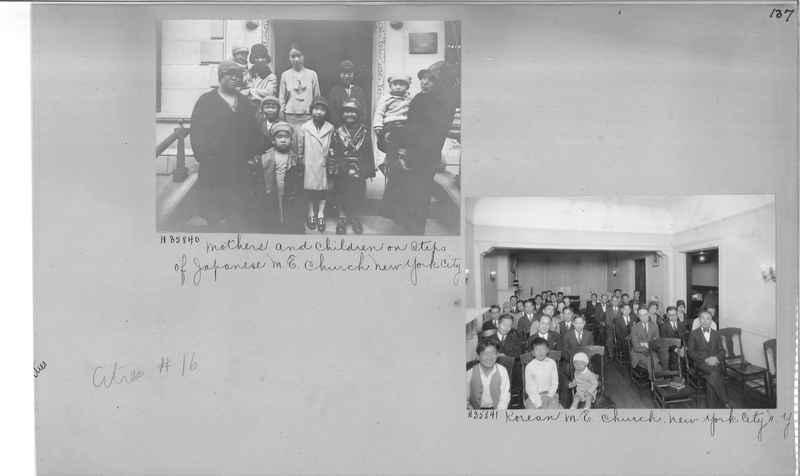 Mission Photograph Album - Cities #16 page 0137