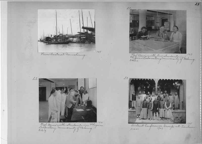 Mission Photograph Album - China #1 page  0023