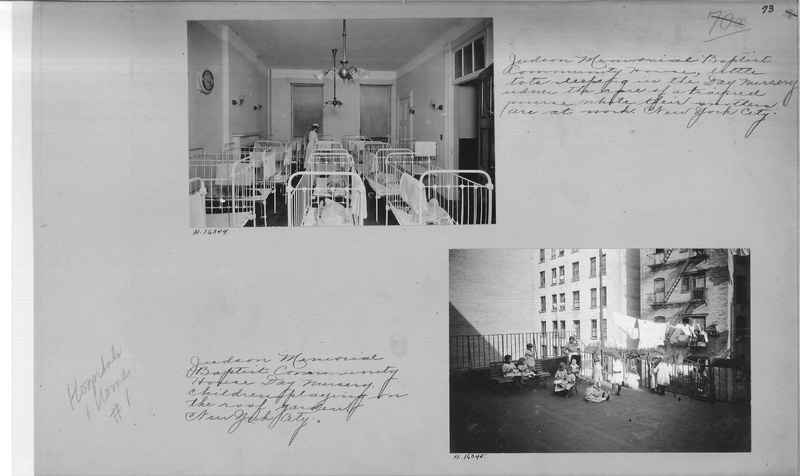 Mission Photograph Album - Hospitals and Homes #1 page 0073