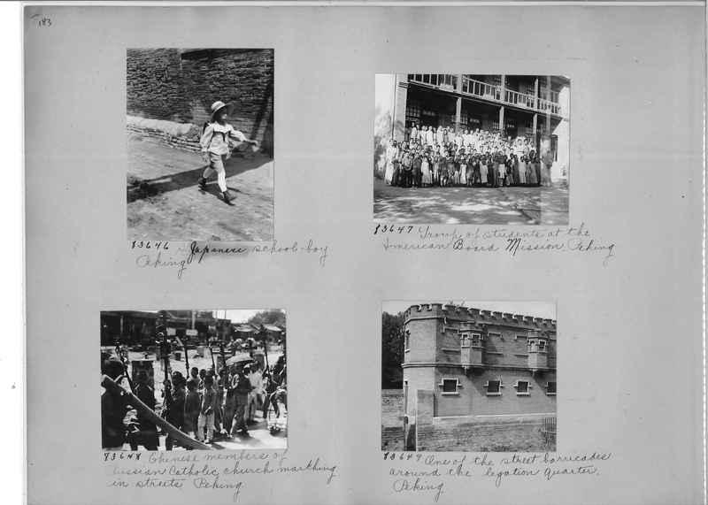 Mission Photograph Album - China #11 page 0183
