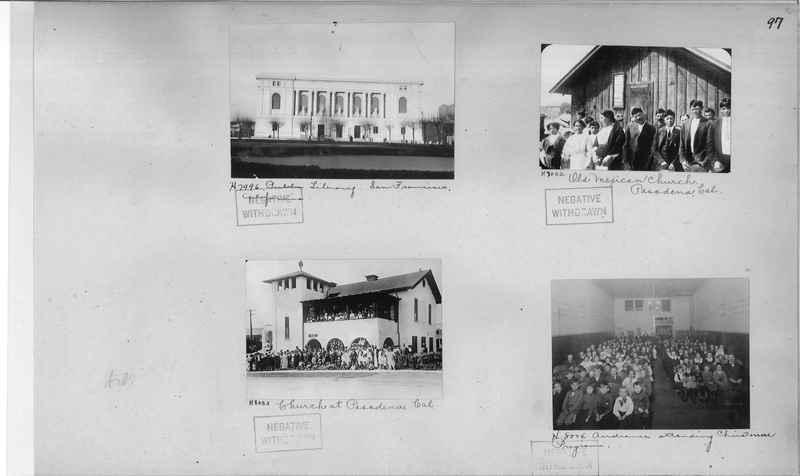 Mission Photograph Album - Cities #4 page 0097