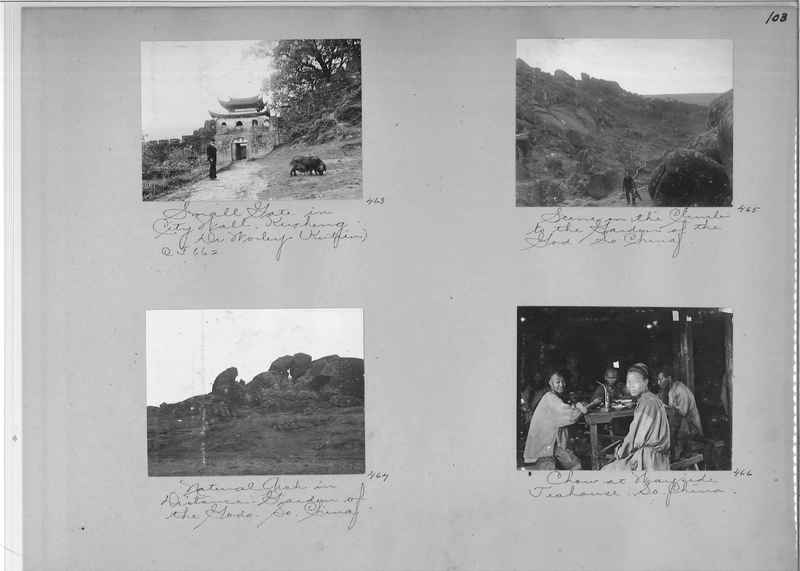 Mission Photograph Album - China #1 page  0103