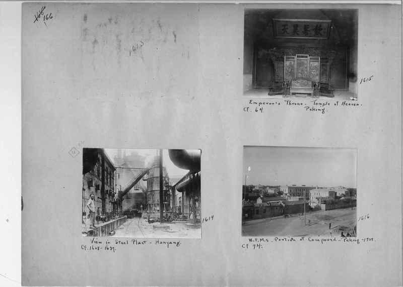 Mission Photograph Album - China #1 page  0166