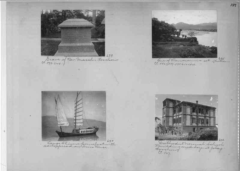 Mission Photograph Album - China #1 page  0147