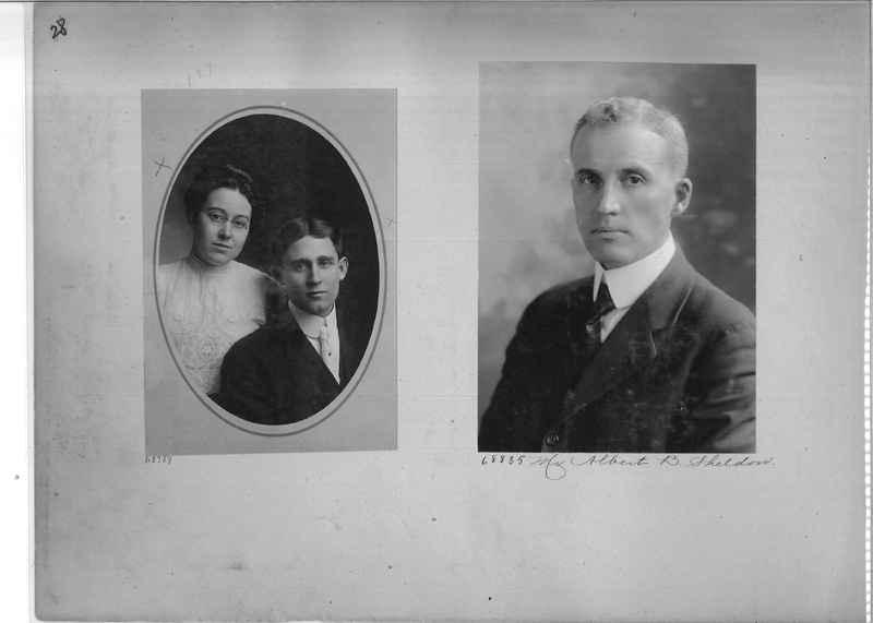 Mission Photograph Album - Portraits #3 page 0028