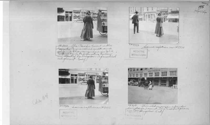 Mission Photograph Album - Cities #4 page 0195