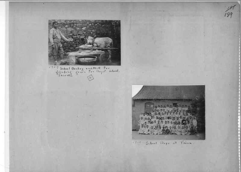 Mission Photograph Album - China #1 page  0189