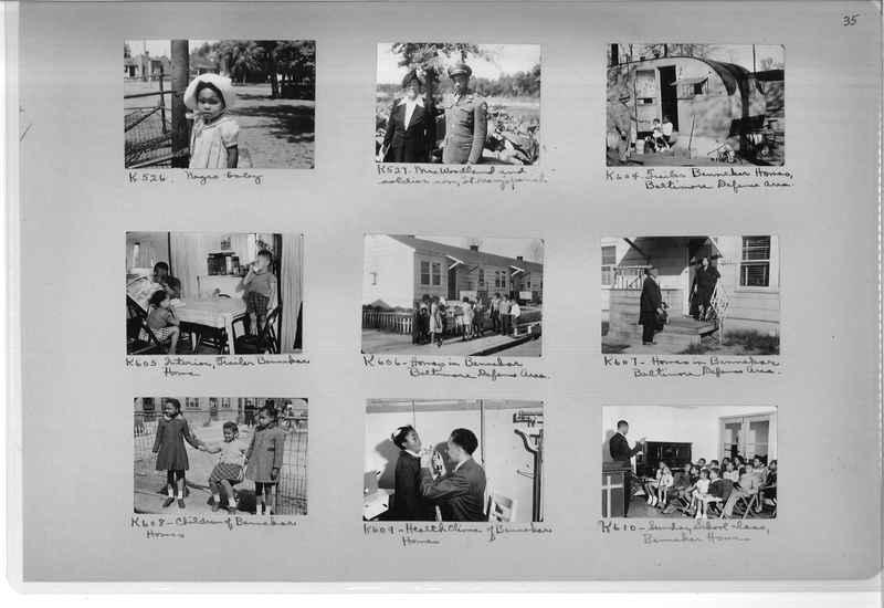 Mission Photograph Album - Negro #7 page 0035