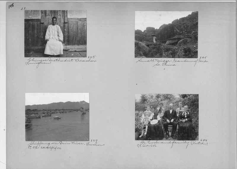 Mission Photograph Album - China #1 page  0148