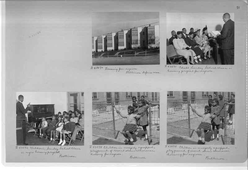Mission Photograph Album - Negro #7 page 0031