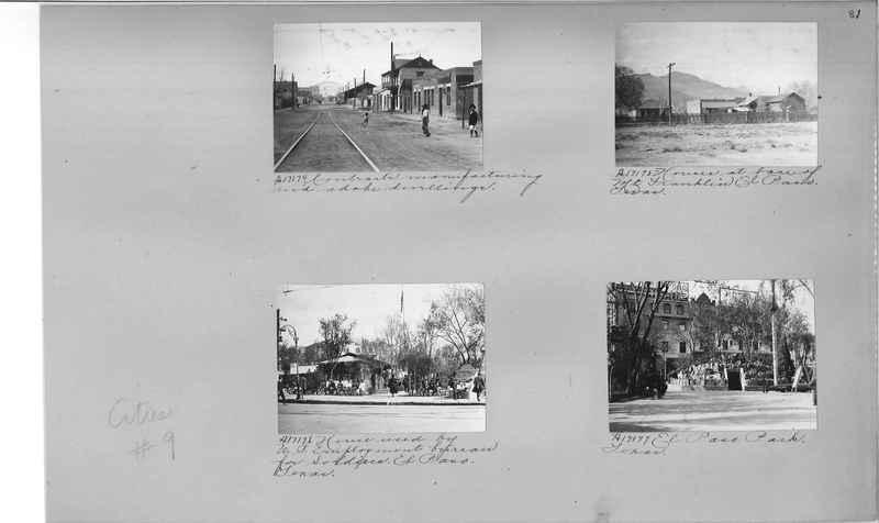 Mission Photograph Album - Cities #9 page 0081
