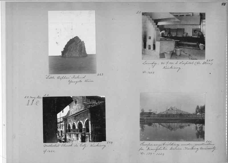 Mission Photograph Album - China #1 page  0043