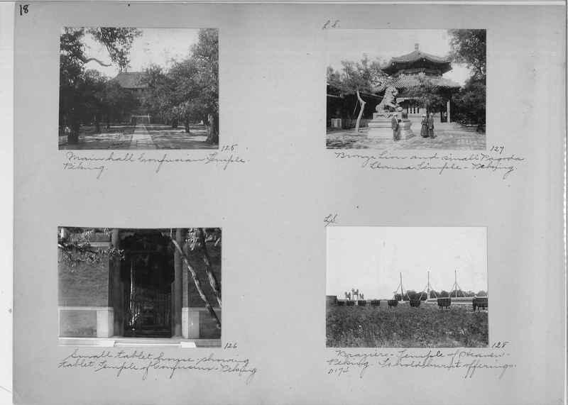 Mission Photograph Album - China #1 page  0018