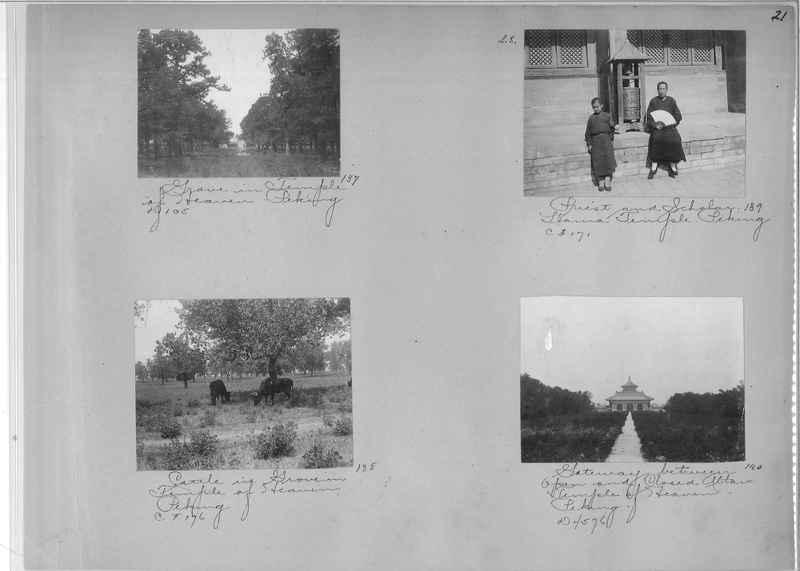 Mission Photograph Album - China #1 page  0021