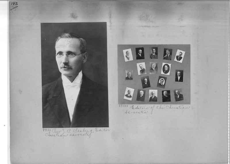 Mission Photograph Album - Portraits #3 page 0142
