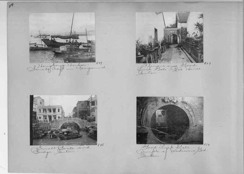 Mission Photograph Album - China #1 page  0114
