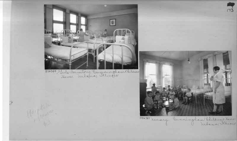 Mission Photograph Album - Hospitals and Homes #3 page 0173