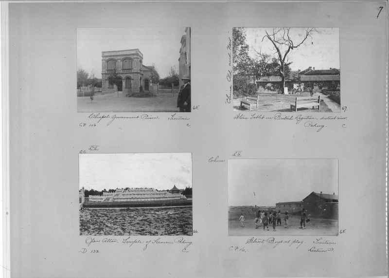 Mission Photograph Album - China #1 page  0007