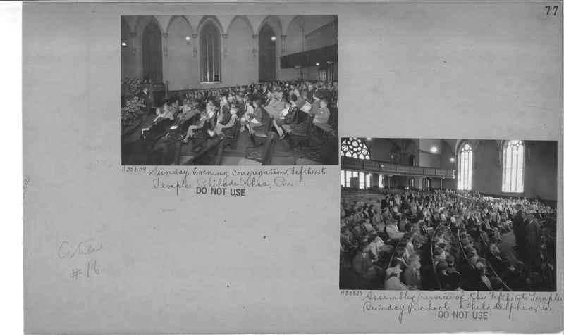 Mission Photograph Album - Cities #16 page 0077