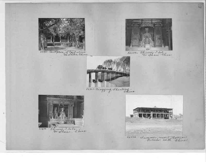 Mission Photograph Album - China #11 pg. 0043