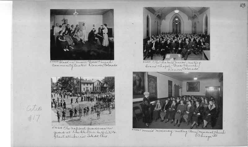 Mission Photograph Album - Cities #17 page 0113