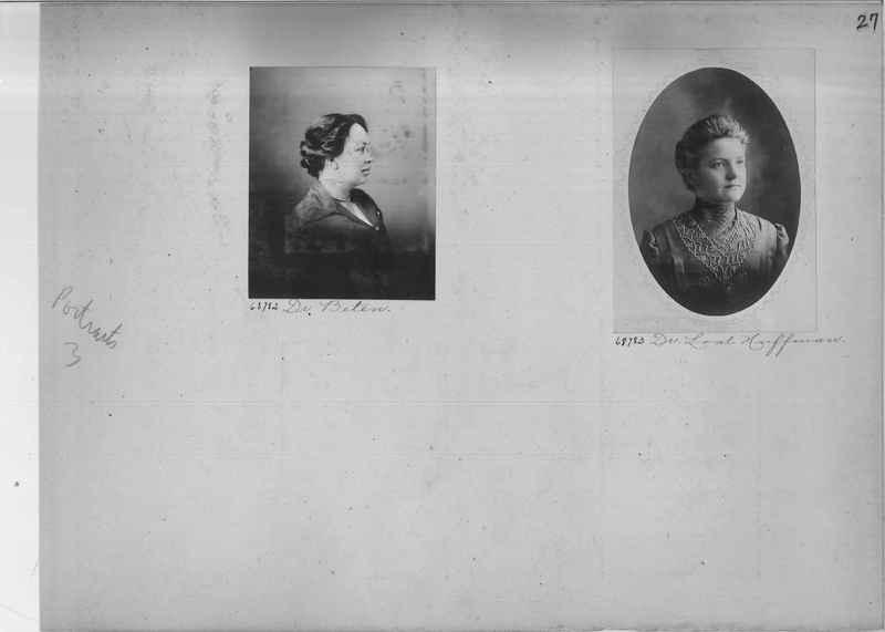 Mission Photograph Album - Portraits #3 page 0027