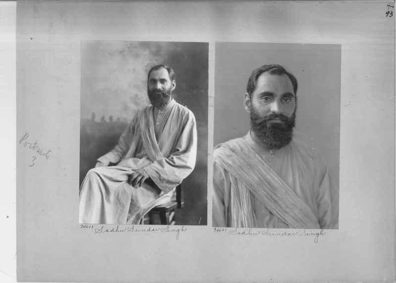 Mission Photograph Album - Portraits #3 page 0093