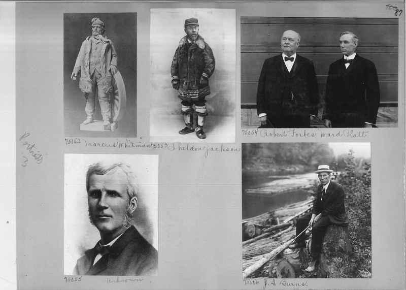 Mission Photograph Album - Portraits #3 page 0087