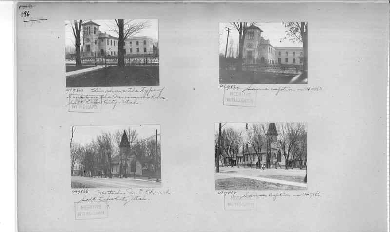 Mission Photograph Album - Cities #4 page 0196