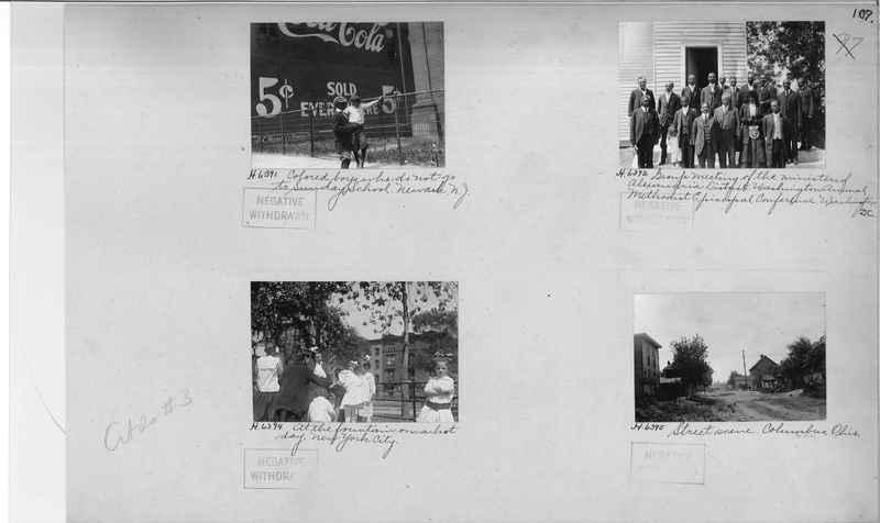Mission Photograph Album - Cities #3 page 0107