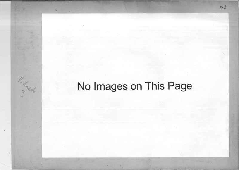 Mission Photograph Album - Portraits #3 page 0023