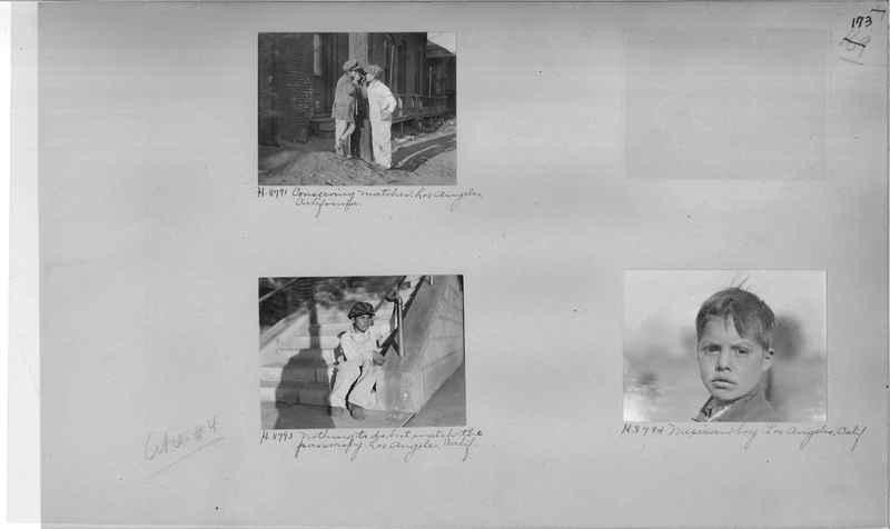 Mission Photograph Album - Cities #4 page 0173
