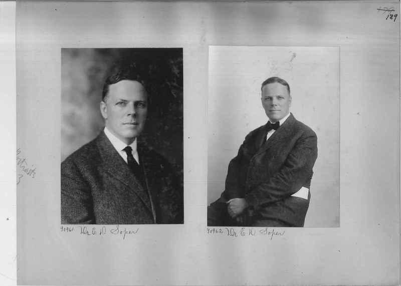 Mission Photograph Album - Portraits #3 page 0189