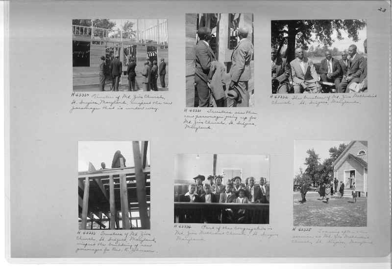 Mission Photograph Album - Negro #7 page 0023
