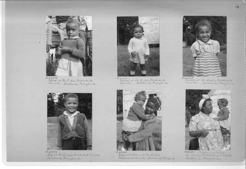 Mission Photograph Album - Negro #7 page 0019