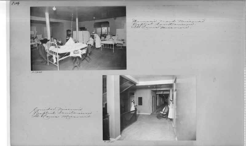 Mission Photograph Album - Hospitals and Homes #1 page 0104