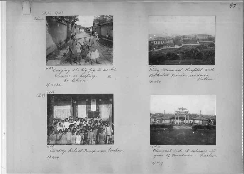 Mission Photograph Album - China #1 page  0097
