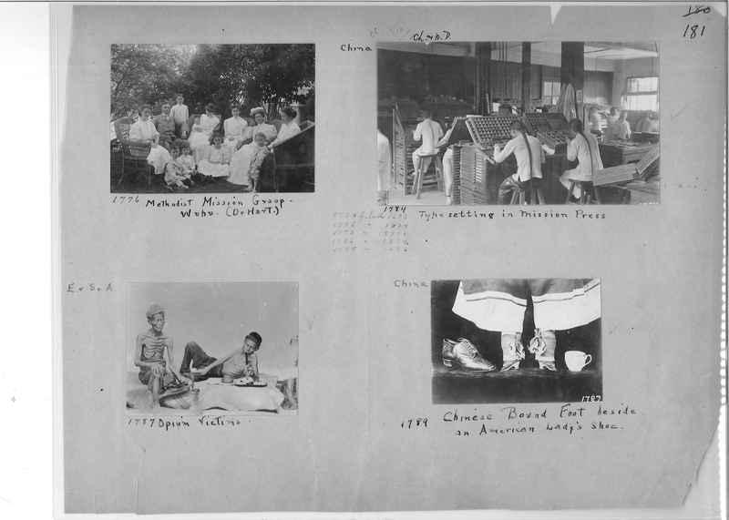 Mission Photograph Album - China #1 page  0181
