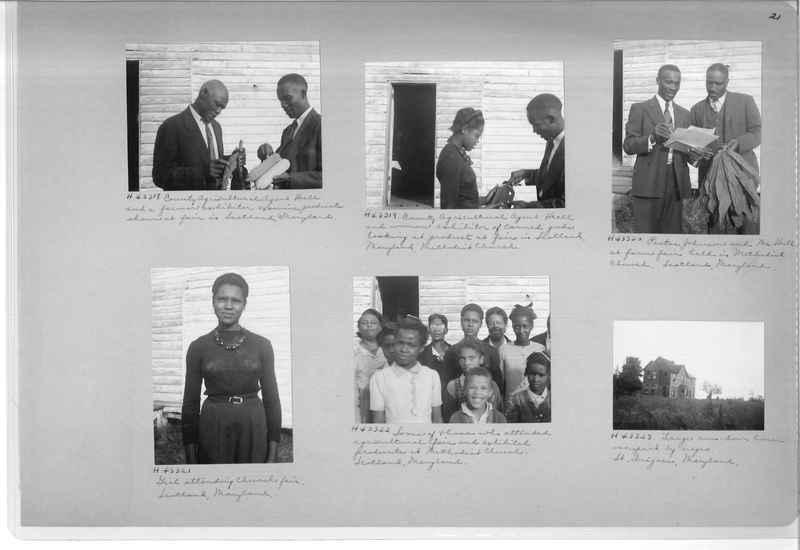 Mission Photograph Album - Negro #7 page 0021