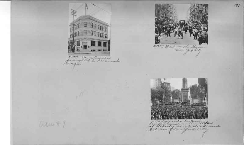 Mission Photograph Album - Cities #9 page 0191