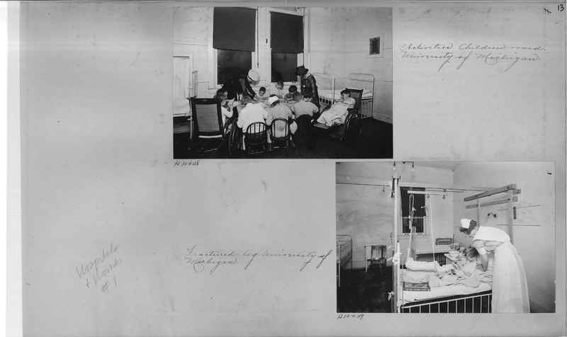 Mission Photograph Album - Hospitals and Homes #1 page 0013