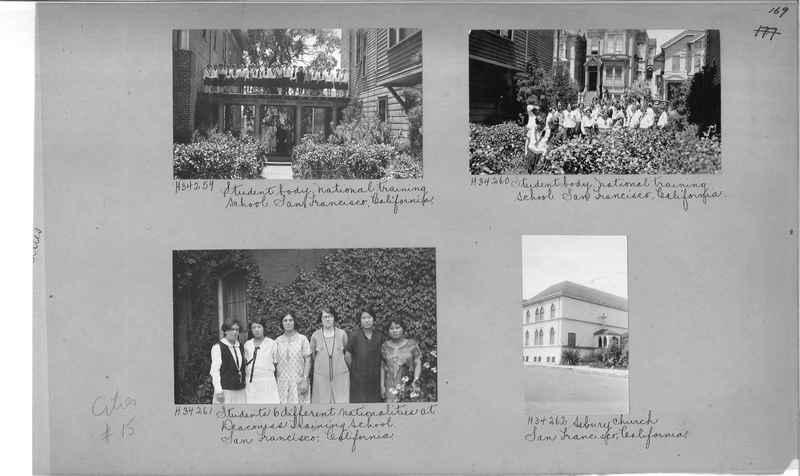 Mission Photograph Album - Cities #15 page 0169