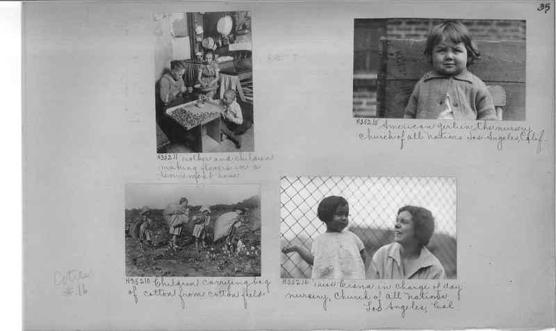 Mission Photograph Album - Cities #16 page 0035