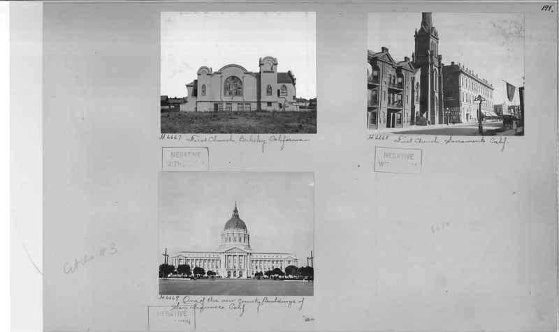 Mission Photograph Album - Cities #3 page 0171